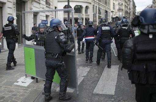 Über 150 Festnahmen am Rande der Parade