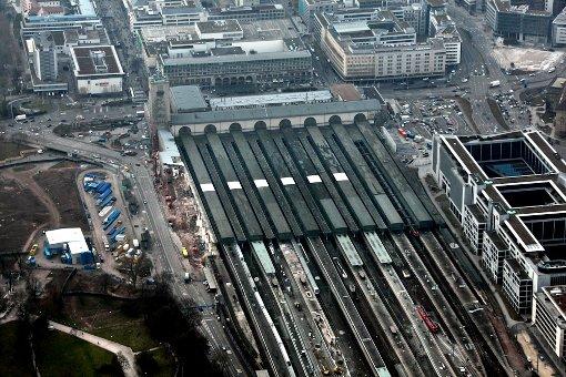 Stuttgart: Die größten Baustellen aus der Luft fotografiert