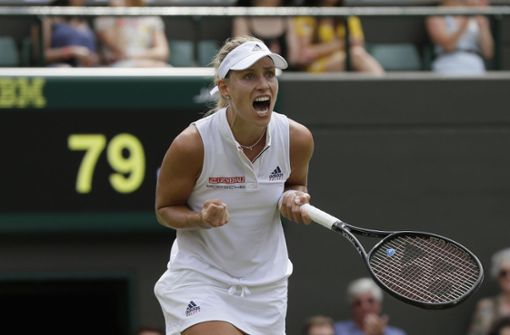 Angelique Kerber erreicht Viertelfinale in Wimbledon