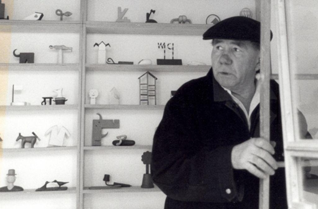Fritz Schwegler wurde 79 Jahre alt. Foto: Barbara Klemm