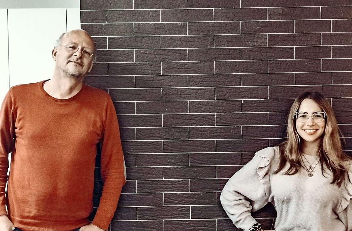 Die 30-jährige Sozialpädagogin Anna Stano leitet  gemeinsam mit dem 60-jährigen Sozialarbeiter Jürgen Kull  das Stadtteilhaus an der Christophstraße. Foto: