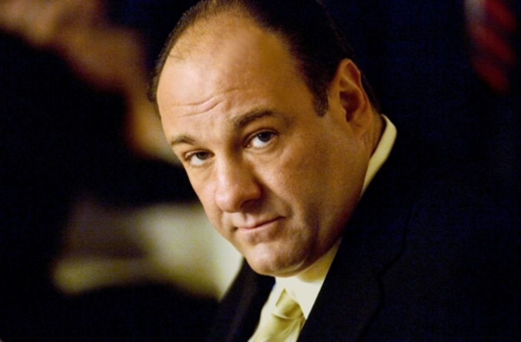 Killer, Kotzbrocken, liebender Familienvater: James Gandolfini als Tony Soprano Foto: AP