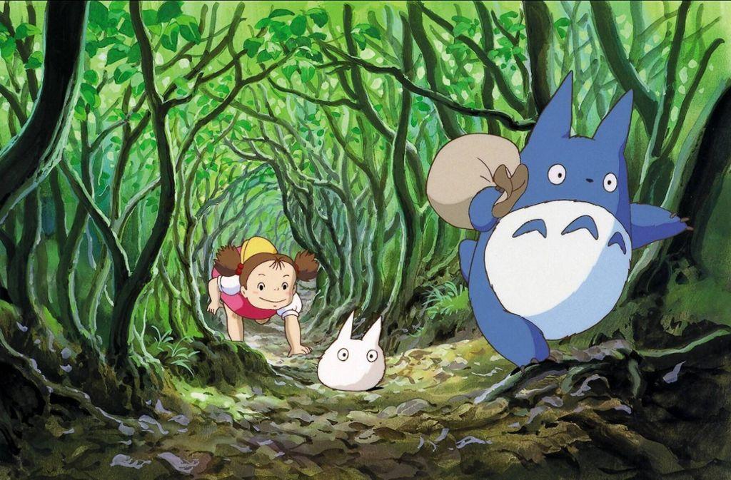 """Seltsame Geschöpfe hausen in """"Mein Nachbar Totoro"""" im Wald – und in der Fantasie zweier Schwestern Foto: imago images/Mary Evans"""