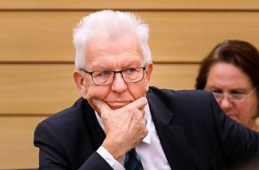 Kretschmann will Weihnachtsferien verlängern