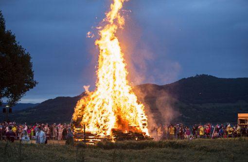 Die Feuer brennen wieder
