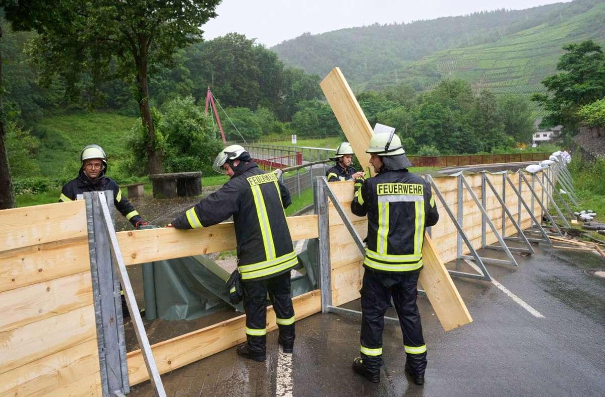 In der Eifel werden nach den Unwettern knapp 70 Menschen vermisst. Foto: dpa/Thomas Frey
