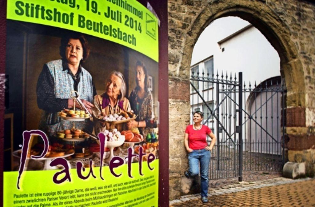 """Das Team um Iris Förster ist bereit: am Samstag wird im Beutelsbacher Stiftshof """"Paulette"""" serviert. Foto: Gottfried Stoppel"""