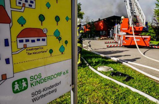 Feuer im Kindergarten betrifft 42 Kinder