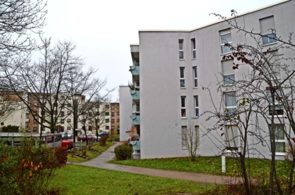 Mietpreiserhöhungen   für SWSG-Wohnungen, hier am Azuritweg, beschäftigen Mieter und   Bezirksbeiräte. Foto: Sandra Hintermayr