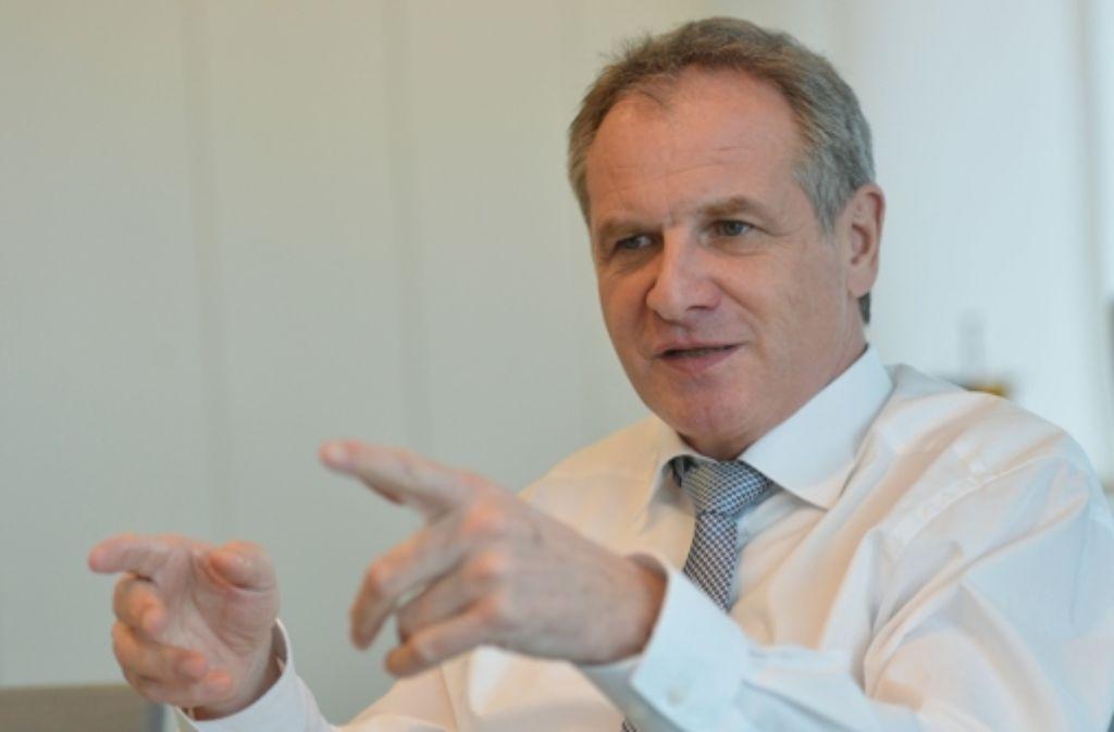 Innenminister Reinhold Gall (SPD) bewies bei der Polizeireform Mut. Foto: dpa