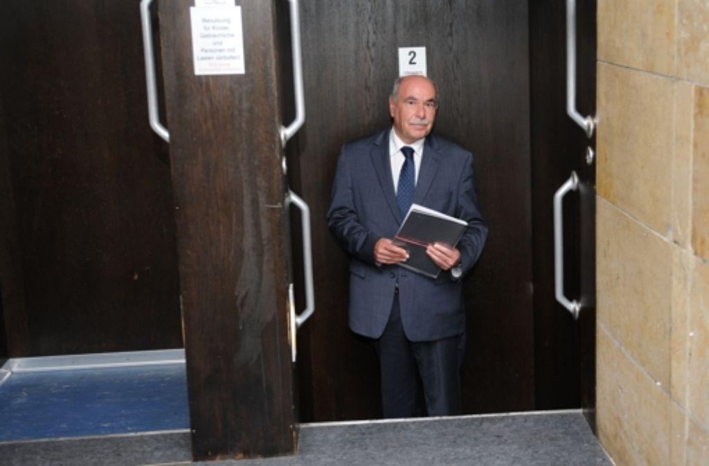Ivo Gönner wird am 29. November nicht mehr zur OB-Wahl antreten. Foto: dpa