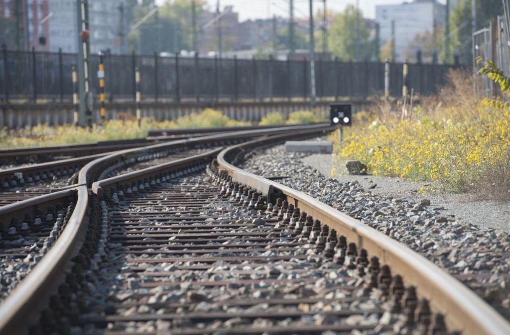 Selfies auf den Gleisen sind vor allem bei Mädchen beliebt – und sehr gefährlich. (Symbolbild) Foto: dpa