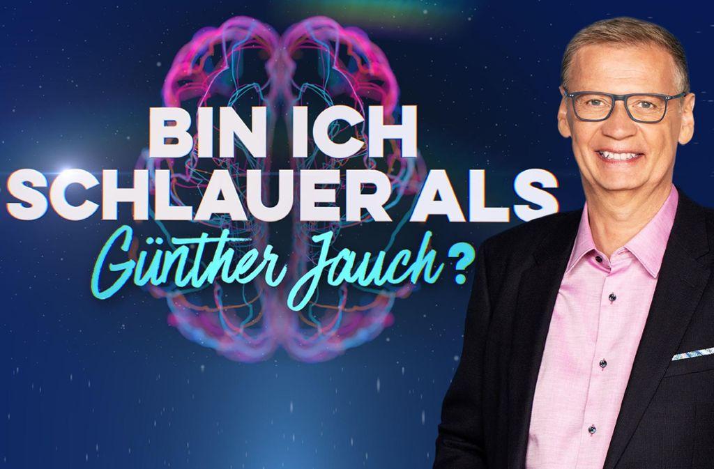 Günther Jauch hat souverän moderiert. Aber hat er sich auch als   Oberschlaukopf erwiesen? Foto: RTL