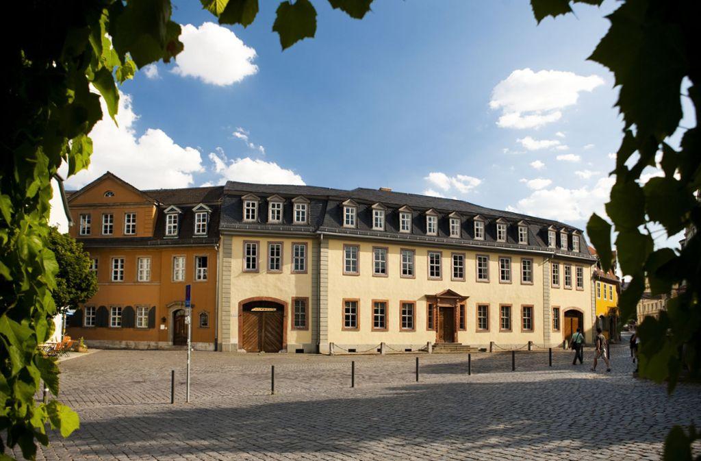 Das Goethe-Nationalmuseum in Weimar Foto: Klassik Stiftung Weimar, Foto: Jens Hauspurg