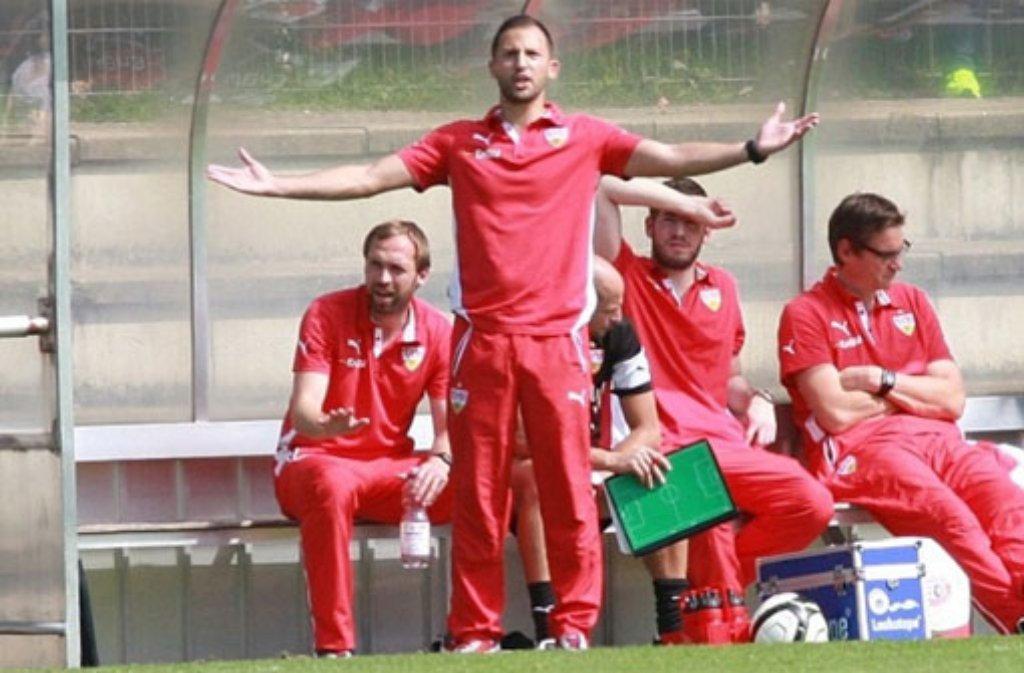 Die B-Junioren des VfB Stuttgart treffen am Sonntag im Kampf um die Deutsche Meisterschaft auf Borussia Dortmund. Das Spiel gibt es im Livestream auf der Homepage des DFB zu sehen. Foto: Lommel