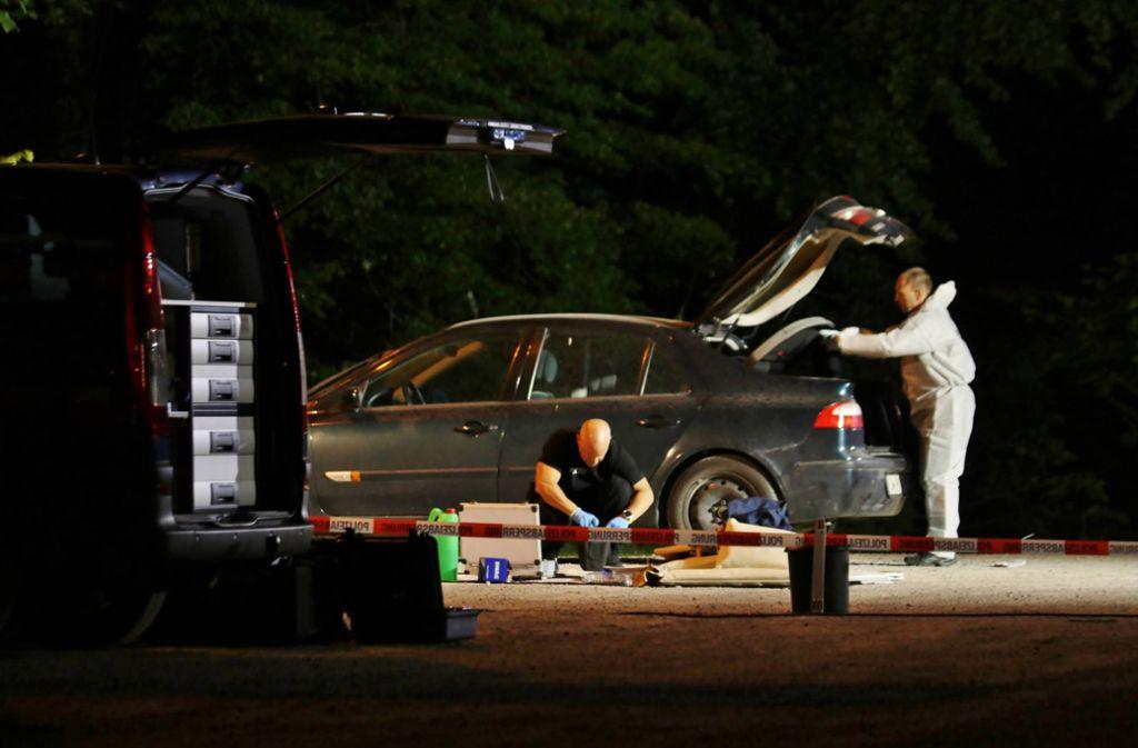 ...ist mindestens einer der Entführer angereist. Foto: 7aktuell.de/Kevin Lermer