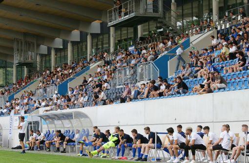 Stuttgarter Kickers dürfen vor 500 Zuschauern spielen