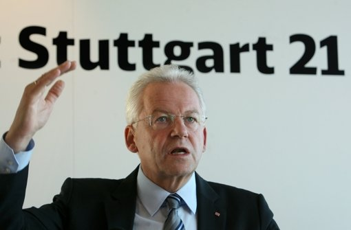 Bahnchef Rüdiger Grube Foto: dpa