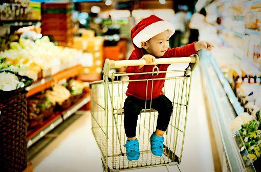 Auch Händlern ist Weihnachten heilig
