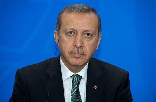 Irritationen bei Erdogan-Besuch
