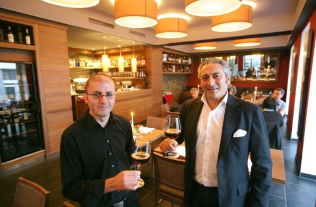 Franco Arcidiacono (links) und Luigi Aracri führen das neue Primafila. Foto: achim zweygarth