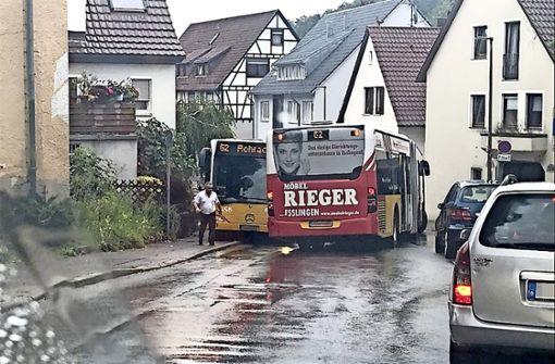 Engpass durch Gelenkbusse