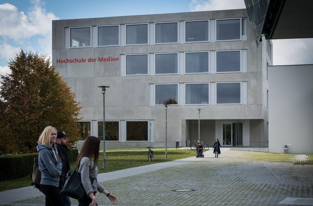 Die Hochschule der Medien will noch mehr Internationalität auf den Campus bringen – und für die Industrie weltoffene Ingenieure ausbilden. Foto: Lichtgut/Achim Zweygarth