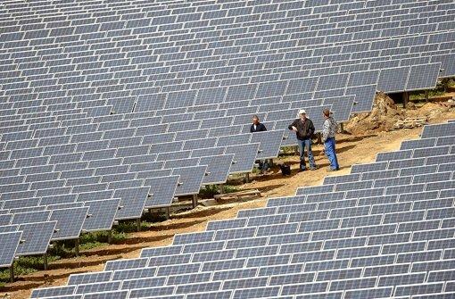 Solarstrom ist in vielen   Ländern der Welt ein Geschäft mit Zukunft. Foto: DPA