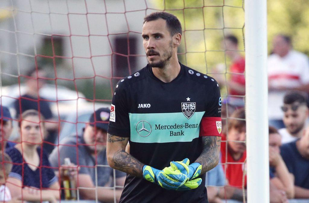 Jens Grahl hat sein Arbeitspapier beim VfB Stuttgart bis 2022 verlängert. Foto: Pressefoto Baumann/Hansjürgen Britsch