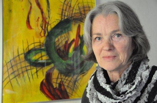 Im Gasthof Waldhorn tobt Christa Lippelt  mit Farben