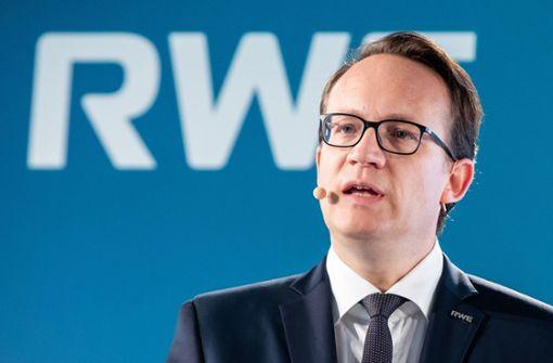 RWE kündigt nach Gewinnplus Milliarden-Investitionen an