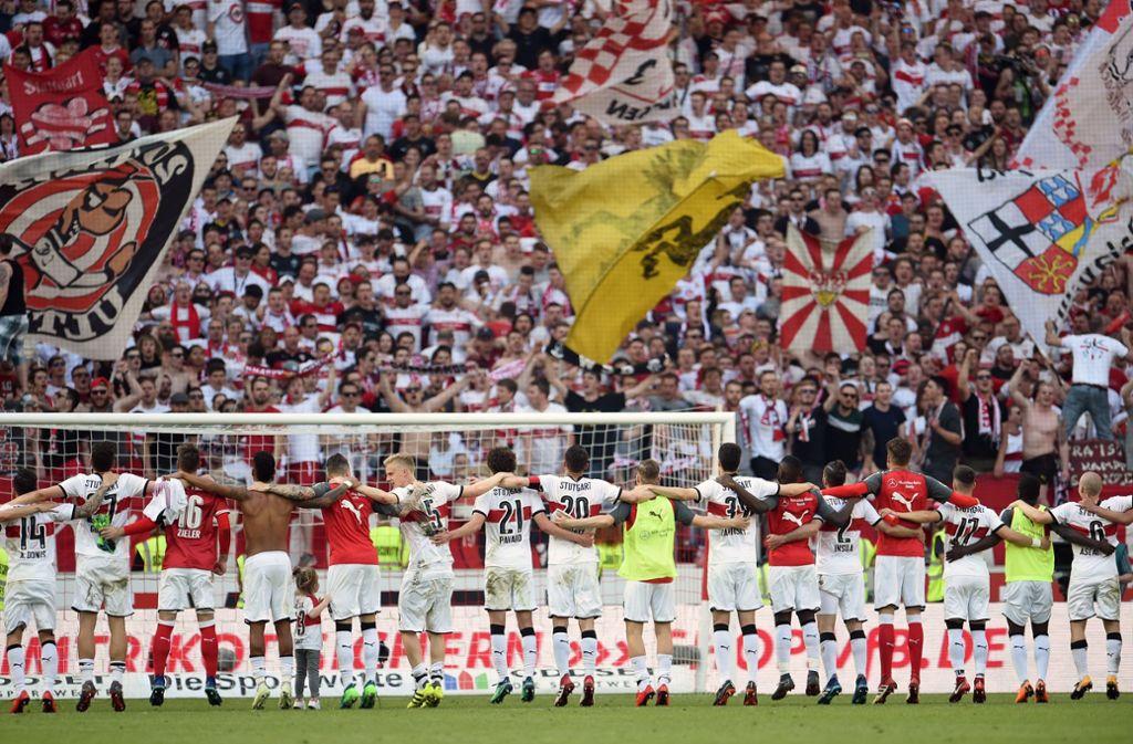 Die Dauerkarten für den VfB Stuttgart sind heiß begehrt. (Symbolfoto) Foto: dpa