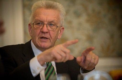 Winfried Kretschmann hält Großprojekte für nötig. Die Vita des Ministerpräsidenten dokumentieren wir in der Bilderstrecke. Foto: Michael Steinert