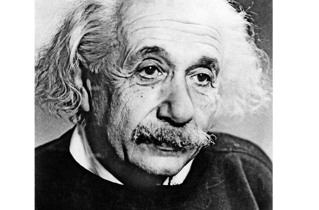 Albert Einstein wäre am 14. März 140 Jahre alt geworden. Foto: dpa