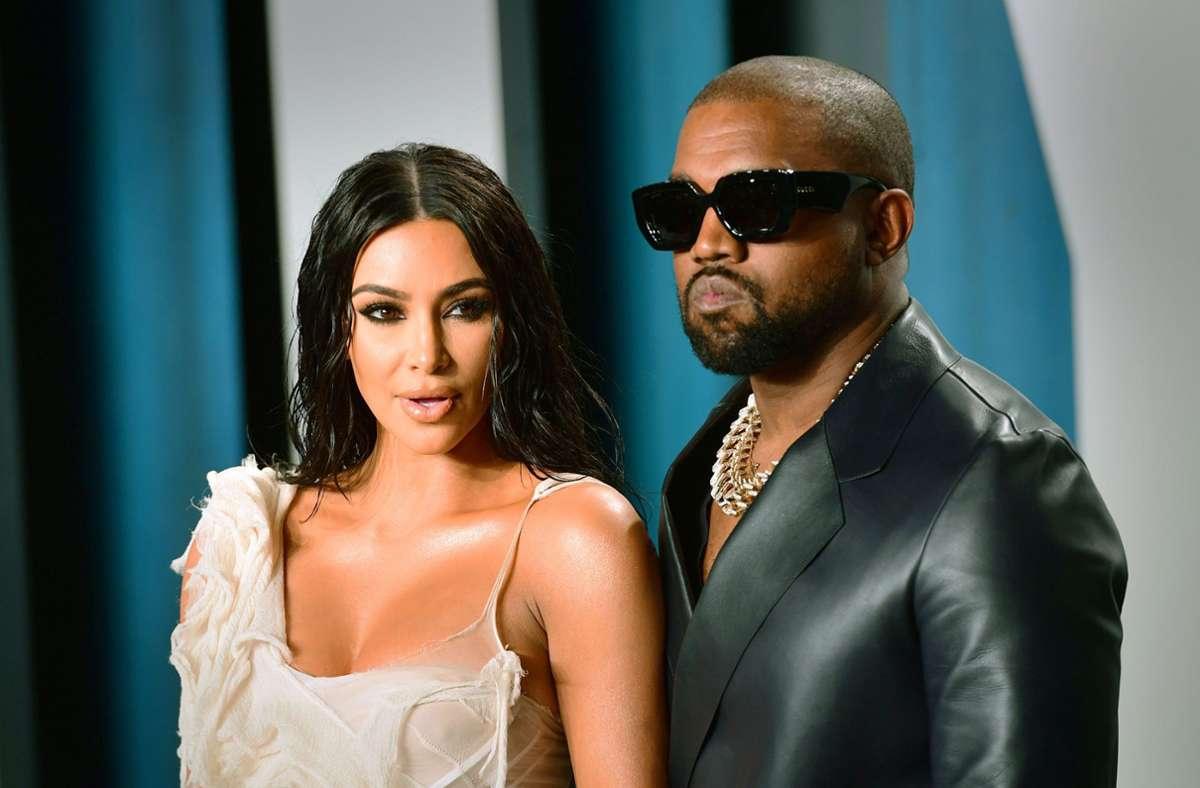 Kim Kardashian ist gerade 40 geworden: Ehemann Kanye West hat ihr ein ungewöhnliches Geschenk gemacht. Foto: dpa/Ian West