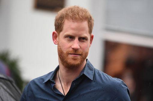 Wurde Prinz Harry von Palast-Website gelöscht?
