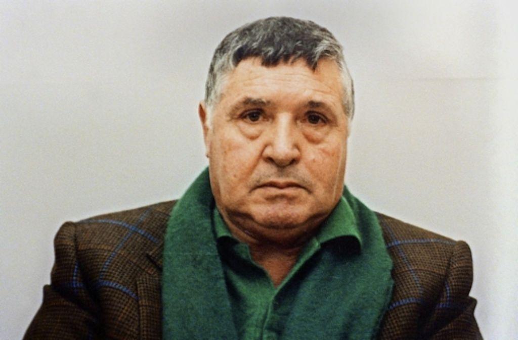Noch hinter Gittern gefährlich: Totò Riina, der Schlächter von Corleone, hat aus dem Gefängnis heraus einen Staatsanwalt bedroht Foto: Polizei/ANSA