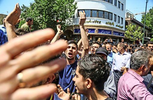 Der Frust bringt die Iraner auf die Straße