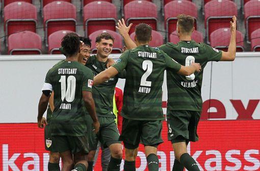 VfB Stuttgart holt ersten Dreier in der Saison