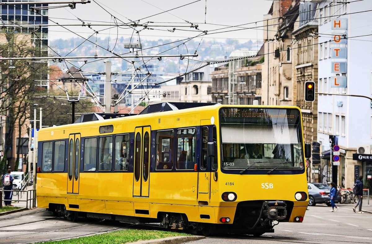 Die ersten Wagen der Stadtbahn biegen 2025 nach rund vier Millionen Kilometern Richtung Ruhestand ab. Foto: Lichtgut/Max Kovalenko