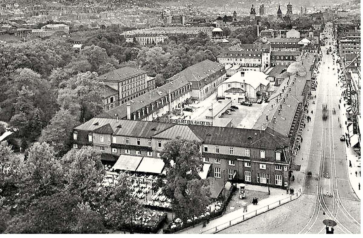 Die Untere Königstraße mit dem Marstall-Areal in den 1930ern. Foto: Sammlung Wibke Wieczorek