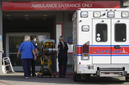 """""""Menschliche Katastrophe"""" in L.A. - Kliniken völlig überlastet"""
