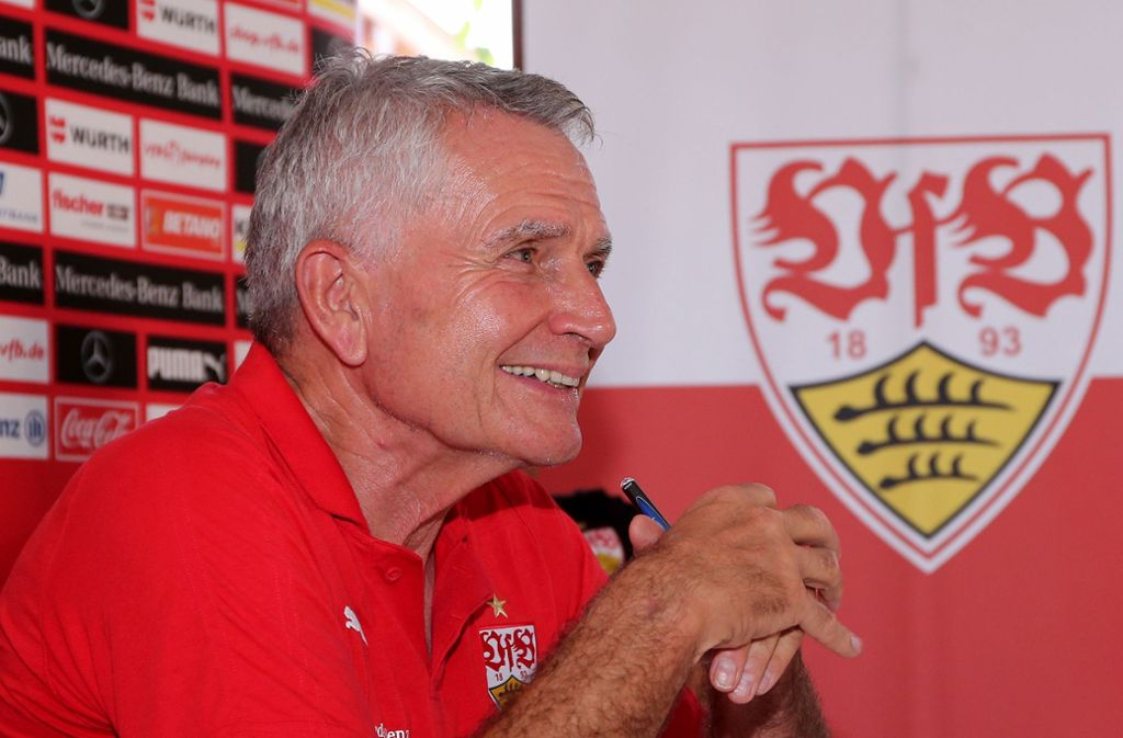 Präsident Wolfgang Dietrich und der VfB Stuttgart beziehen Stellung zur Rassismus-Debatte. Foto: Baumann