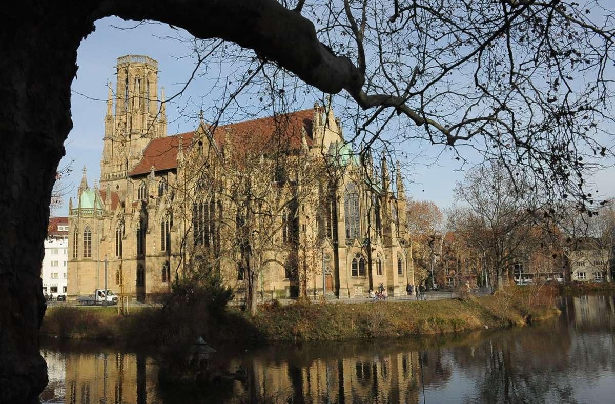 """In der Johanneskirche tritt am Pfingstsonntag das Trio """"Scharff 3fach"""" mit dem Orgel-Virtuosen Georg Ammon auf. Foto: Georg Linsenmann"""