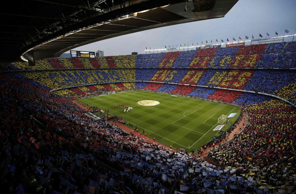 Das Spiel zwischen Barca und Real soll verschoben werden. Foto: AFP/PAU BARRENA