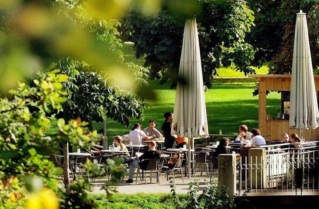Die Esslinger Gastronomen haben jede Menge Plätze für Freiluftgenießer zu bieten. Foto: Pressefoto Horst Rudel