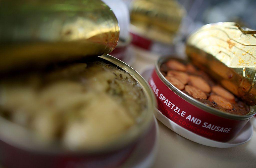 Zu den Standardgerichten gibt es noch schwäbische Spezialitäten wie Spätzel und Maultaschen. Foto: dpa