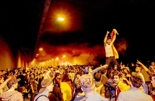 Fußball, Feuerwerk, Fastenbrechen – Ludwigsburg steht Kopf