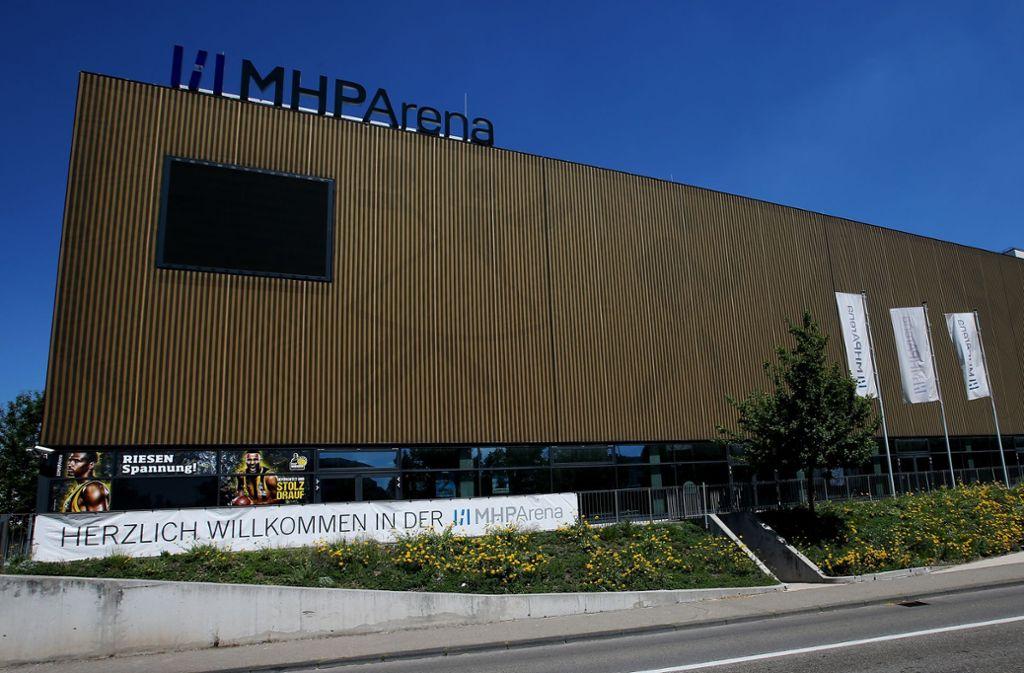 Eine Veranstaltung in der MHP Arena in Ludwigsburg endete mit einem Polizeieinsatz. Foto: Pressefoto Baumann