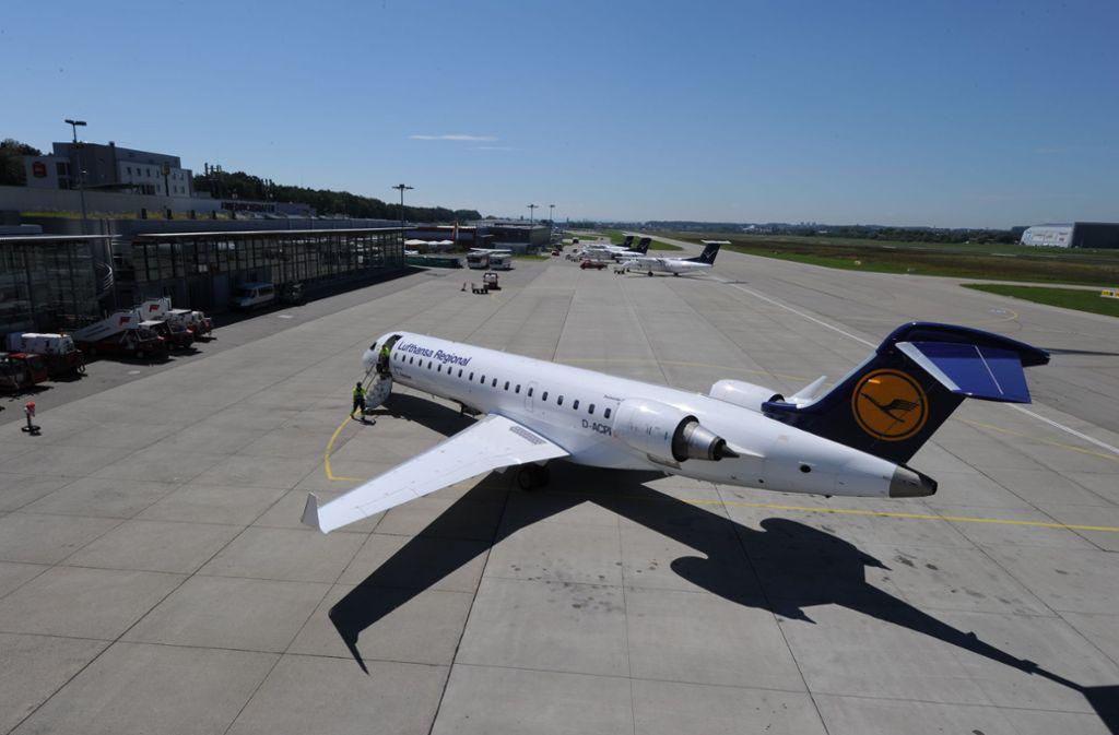 Der Flughafen in Friedrichshafen Foto: Felix Kaestle / Bodensee-Airport Friedrichshafen/Felix Kaestle